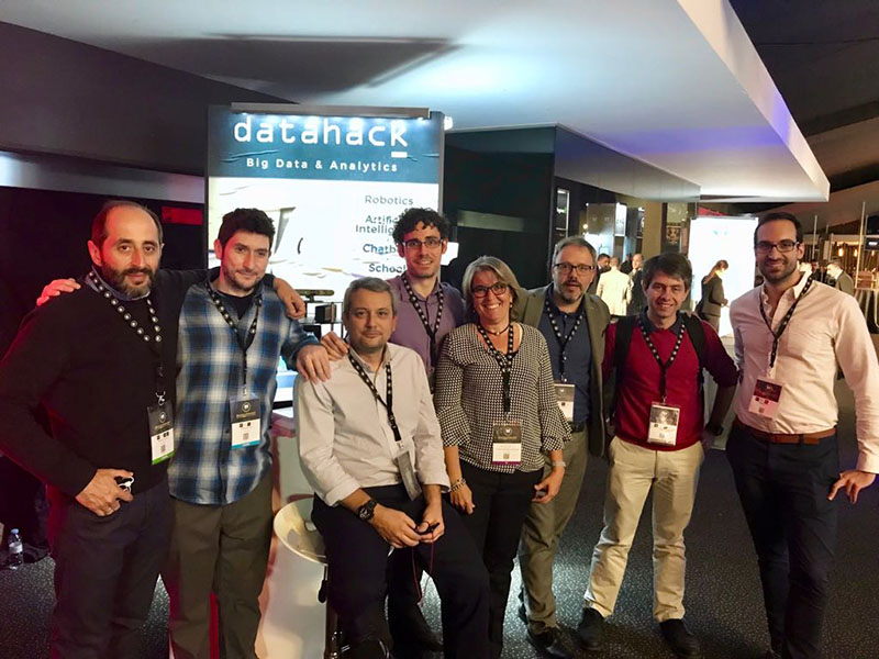 stand datahack en Big Data Spain 2017