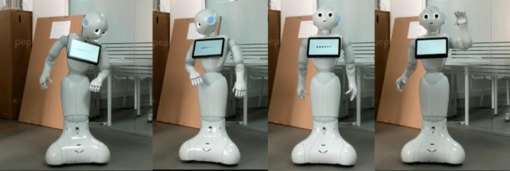 primera semana con el robot aida en el laboratorio de robótica de datahack