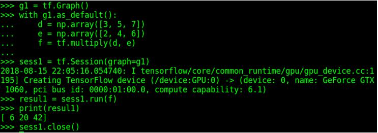 Programando con la API de Bajo Nivel de Tensorflow