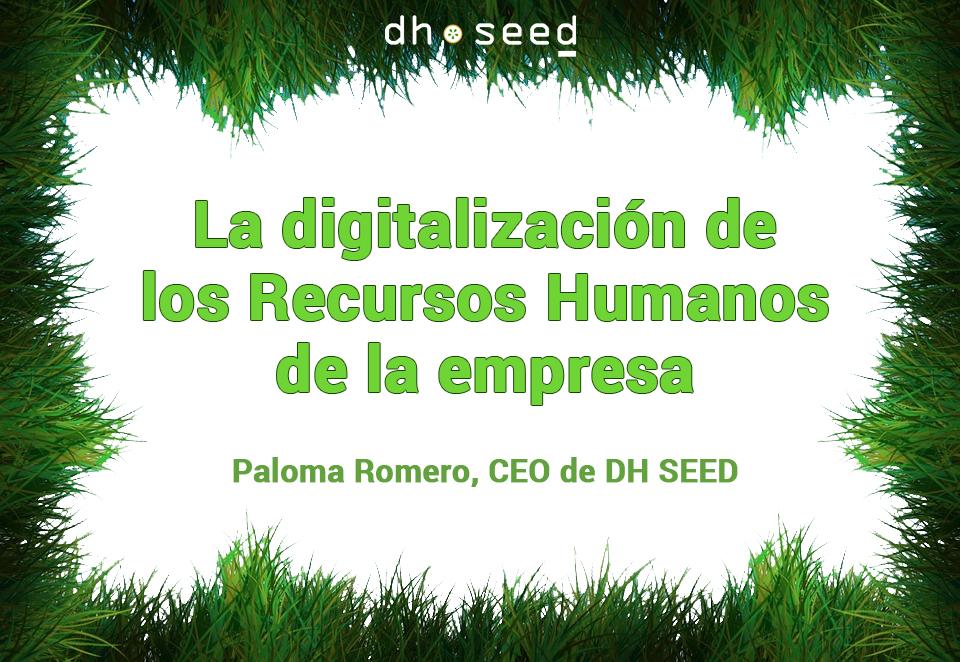 La digitalización de los Recursos Humanos de la empresa