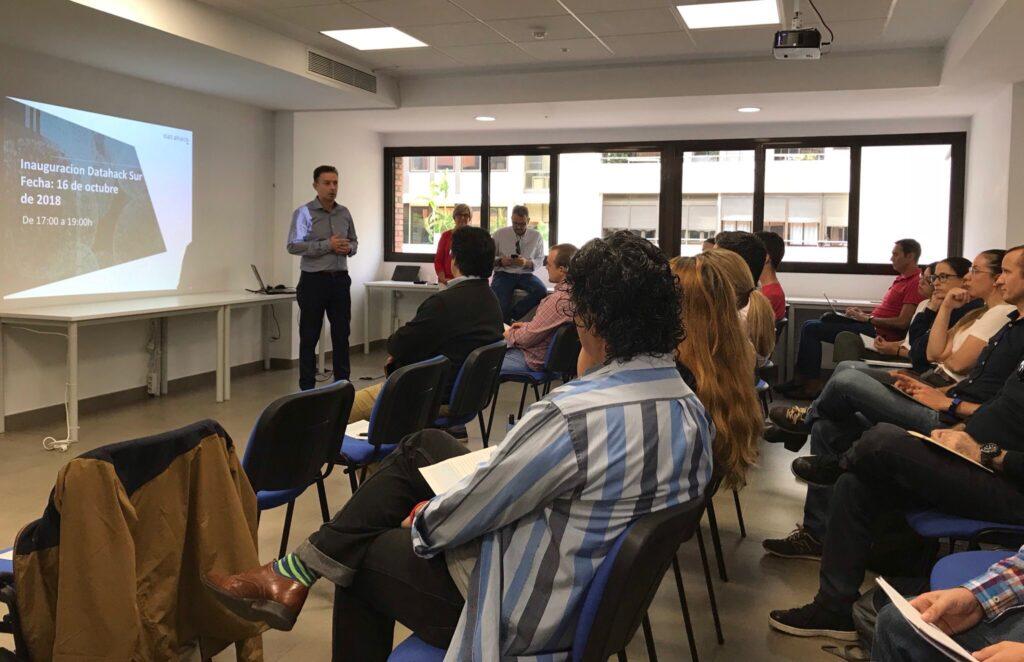 datahack Sur la nueva sede de Sevilla éxito en su inauguración