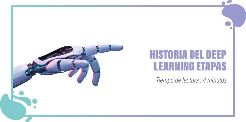 Deep learning historia etapas
