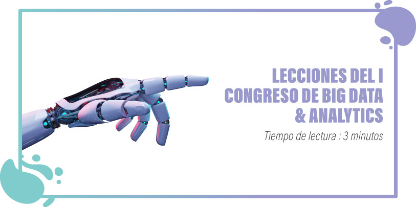 Lecciones congreso big data