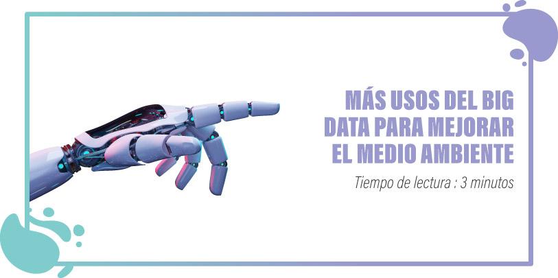 Big Data y Medioambiente
