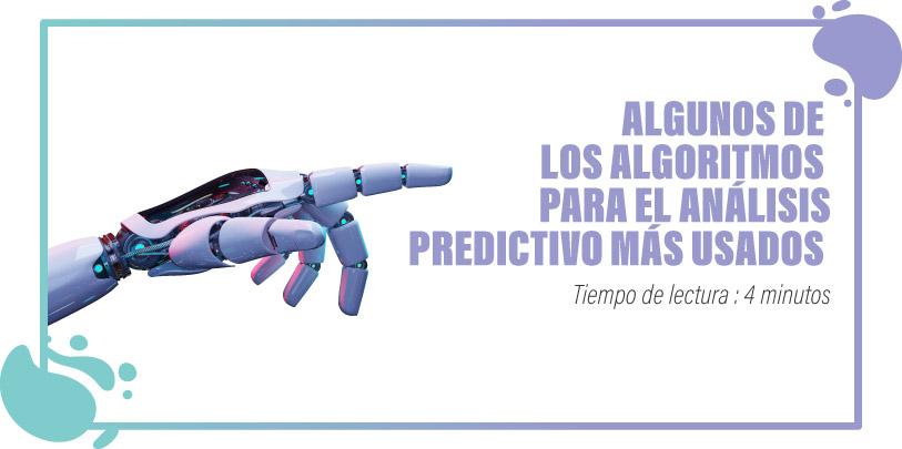 ALGORITMOS PARA EL ANÁLISIS PREDICTIVO